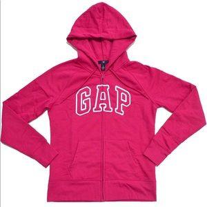 Gap Women's Logo Hoodie Full Zip